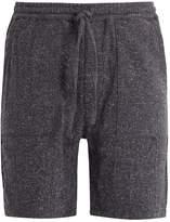 THE LOST EXPLORER Kinkajous elasticated-waist cotton-blend shorts