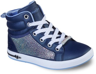 Skechers Shoutouts Sparkle & Style Girls' High Top Shoes