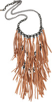 ACB Tiered fringe necklace