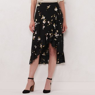 Lauren Conrad Women's Wrap Skirt