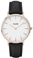 Cluse Women's La Boheme CL18008 Rose Leather Quartz Watch