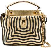 Fendi mini Dotcom Click shoulder bag - women - Leather/metal - One Size