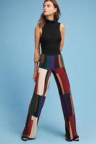 Siyu Colorblock Wide-Leg Pants