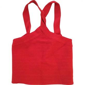 Alexander Wang Red Sponge Top for Women