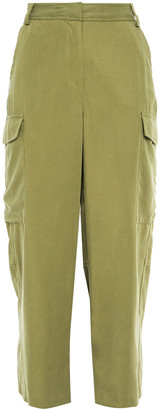 MICHAEL Michael Kors Cropped Woven Straight-leg Pants
