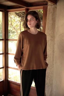 Velvet by Graham & Spencer Rumer Luxe Fleece Drop Sleeve Top