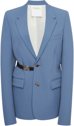 Bottega Veneta Gabardine Suit Jacket