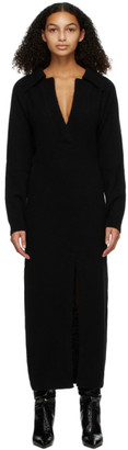 Nanushka Black Wool Hope Dress