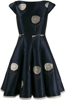 Talbot Runhof Bonitou flared dress