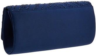 Monsoon Hannah Heatseal Occasion Clutch Bag - Navy