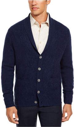 Tasso Elba Men Cashmere Button Cardigan