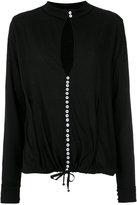 Andrea Bogosian long sleeves cut out blouse