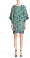 Michael Kors Women's Geo Print Silk Dress