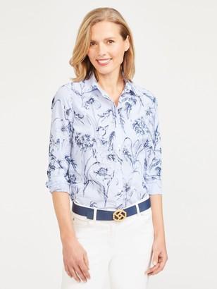 J.Mclaughlin Jace Shirt in Arden Floral