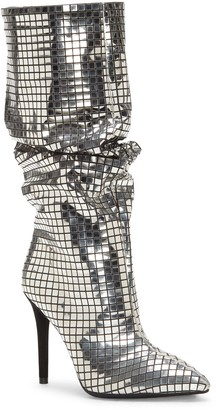 Jessica Simpson Leonelle Metallic Pointy Toe Knee High Boot