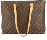 Louis Vuitton Monogram Canvas Luco Tote Bag (Pre Owned)