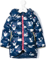 Little Marc Jacobs hooded printed coat