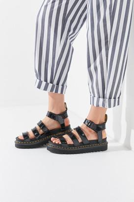 Dr. Martens Blaire Patent Leather Lamper Sandal