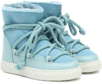 Inuikii Kids Sneaker suede and leather boots