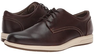 Dockers Parkview (Red Brown Waxy Distressed Full Grain) Men's Lace up casual Shoes