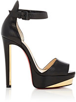 Christian Louboutin Women's Tuctopen Platform Sandals-BLACK