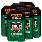 Brut Anti-Perspirant Plus Deodorant, Stamina, 2 Ounce (Pack of 6)