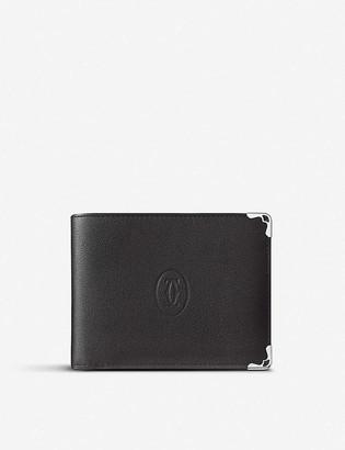 Cartier Must de bi-fold leather wallet