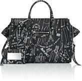 Balenciaga Women's Papier A6 Leather Side-Zip Tote Bag