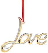 Nambe Love Ornament