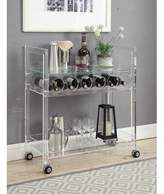 Everly Quinn Woodbridge Bar Cart Quinn