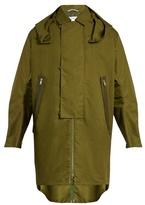 Oamc Jungle coated cotton-blend coat