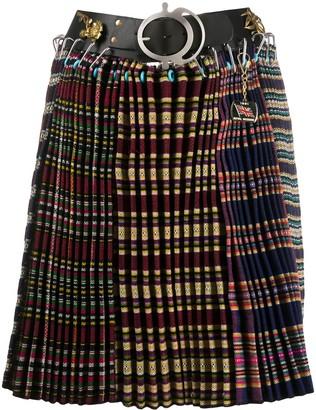 Chopova Lowena Contrast Panel Skirt