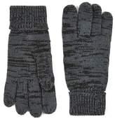 Topman Gray Plaited Gloves