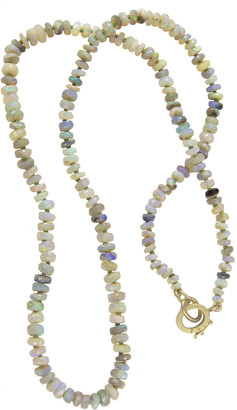 Irene Neuwirth One-Of-A-Kind 57 Carat Faceted Opal Beaded Necklace - Rose Gold