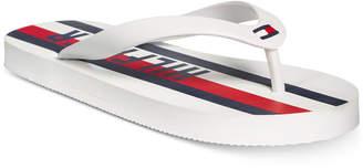 Tommy Hilfiger Little & Big Boys Graphic Stripe Flip-Flop Sandals