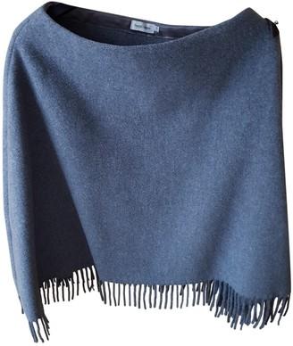 Henry Cotton Grey Wool Coat for Women