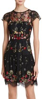 Parker Janina Embellished Lace Dress