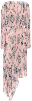 Preen by Thornton Bregazzi Delaney floral georgette midi dress