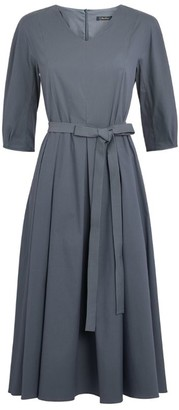 Max Mara Fernet Tie-Waist Dress
