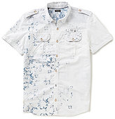 Buffalo David Bitton Silaky Short-Sleeve Shirt