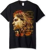 FEA Men's Kurt Cobain Side View Of Kurt Mens T-Shirt