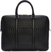 Paul Smith Black Embossed No.9 Briefcase