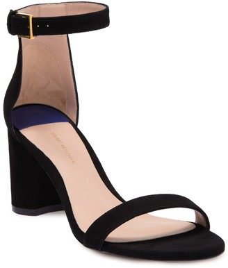 Stuart Weitzman Less Nudist Ankle Strap Sandal