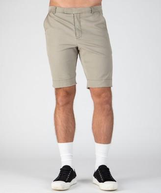 Atm Stretch Cotton Garment Wash Shorts - Faded Sage