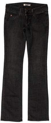 Hudson Low-Rise Straight-Leg Jeans