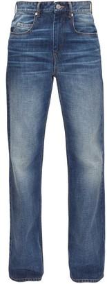Etoile Isabel Marant Belvira Vintage-wash Bootcut Jeans - Denim