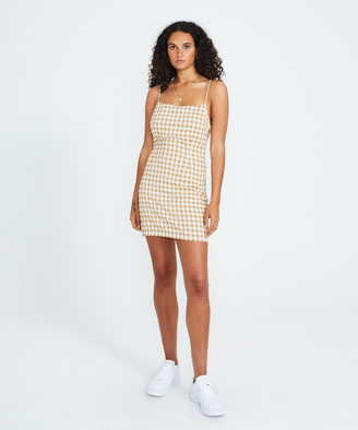 Alice In The Eve Amy Corest Linen Dress Check