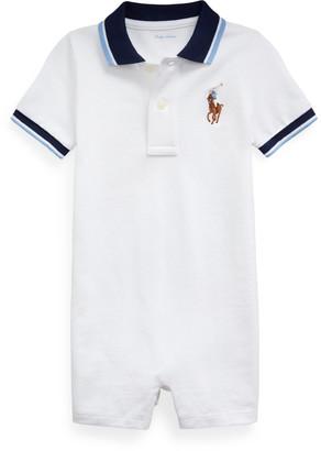Ralph Lauren Cotton Mesh Polo Shortall