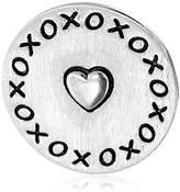 """Charmed Lockets """"XOXO"""" Coin Charm"""