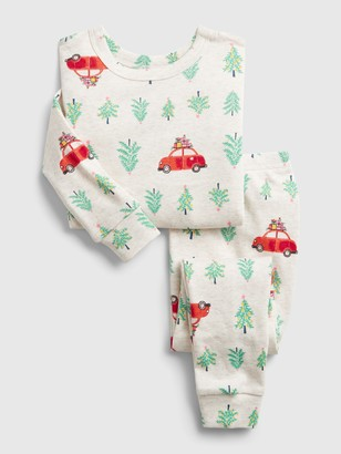Gap babyGap Car Graphic PJ Set
